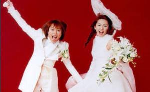 西川貴教x吉村由美の結婚写真