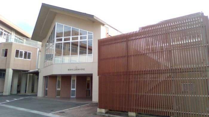 西川貴教の出身中学(野洲中学校)